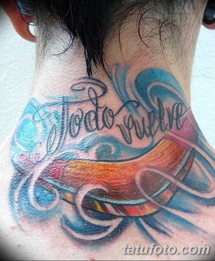 фото тату бумеранг от 10.12.2017 №025 - boomerang tattoo - tatufoto.com