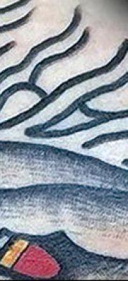 фото тату бумеранг от 10.12.2017 №032 – boomerang tattoo – tatufoto.com