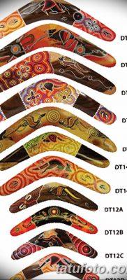 фото тату бумеранг от 10.12.2017 №034 – boomerang tattoo – tatufoto.com