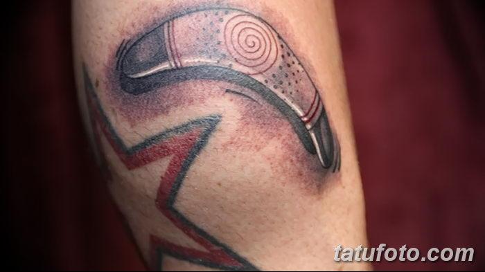 фото тату бумеранг от 10.12.2017 №043 - boomerang tattoo - tatufoto.com
