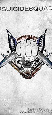 фото тату бумеранг от 10.12.2017 №050 – boomerang tattoo – tatufoto.com