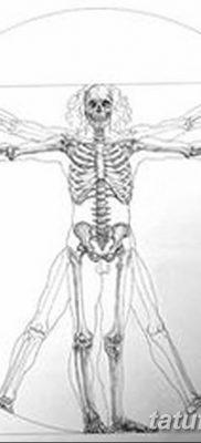 фото тату витрувианский человек от 07.12.2017 №030 – Vitruvian man tattoo – tatufoto.com 2323434211