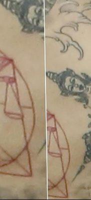 фото тату витрувианский человек от 07.12.2017 №036 – Vitruvian man tattoo – tatufoto.com
