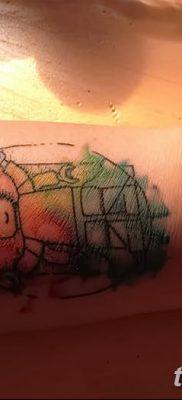 фото тату витрувианский человек от 07.12.2017 №061 – Vitruvian man tattoo – tatufoto.com