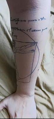 фото тату витрувианский человек от 07.12.2017 №133 – Vitruvian man tattoo – tatufoto.com