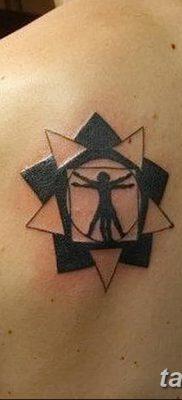 фото тату витрувианский человек от 07.12.2017 №154 – Vitruvian man tattoo – tatufoto.com
