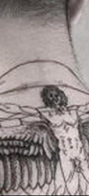 фото тату витрувианский человек от 07.12.2017 №166 – Vitruvian man tattoo – tatufoto.com