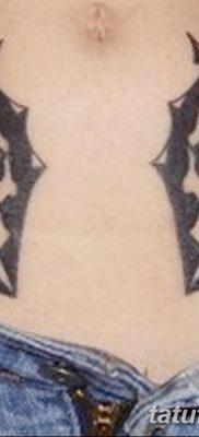 фото тату две маски от 21.12.2017 №051 – tattoo two masks – tatufoto.com