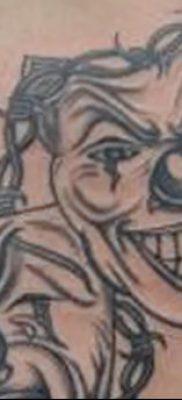 фото тату две маски от 21.12.2017 №055 – tattoo two masks – tatufoto.com