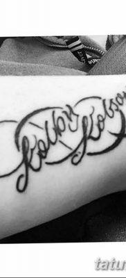 фото тату двойная бесконечность от 09.12.2017 №011 – tattoo double infinity – tatufoto.com