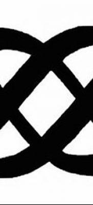 фото тату двойная бесконечность от 09.12.2017 №015 – tattoo double infinity – tatufoto.com