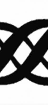 фото тату двойная бесконечность от 09.12.2017 №031 – tattoo double infinity – tatufoto.com