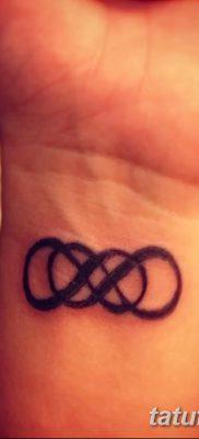 фото тату двойная бесконечность от 09.12.2017 №036 – tattoo double infinity – tatufoto.com