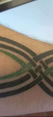 фото тату двойная бесконечность от 09.12.2017 №045 – tattoo double infinity – tatufoto.com