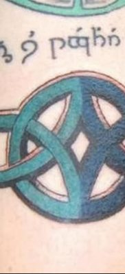 фото тату двойная бесконечность от 09.12.2017 №063 – tattoo double infinity – tatufoto.com