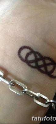 фото тату двойная бесконечность от 09.12.2017 №070 – tattoo double infinity – tatufoto.com