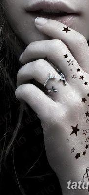 фото тату звездочки на руке от 21.12.2017 №034 – tattoo stars on hand – tatufoto.com