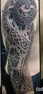 фото тату кельтика от 19.12.2017 №008 – tattoo of the Celtic – tatufoto.com