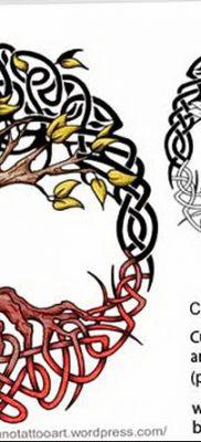 фото тату кельтика от 19.12.2017 №030 – tattoo of the Celtic – tatufoto.com