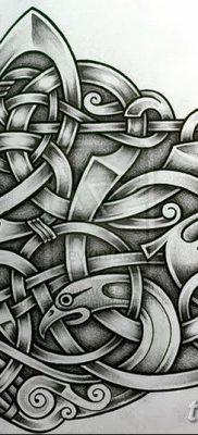 фото тату кельтика от 19.12.2017 №069 – tattoo of the Celtic – tatufoto.com
