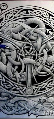 фото тату кельтика от 19.12.2017 №076 – tattoo of the Celtic – tatufoto.com