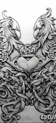 фото тату кельтика от 19.12.2017 №077 – tattoo of the Celtic – tatufoto.com