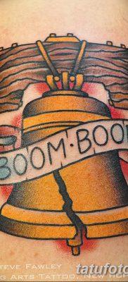фото тату колокол от 19.12.2017 №003 – tattoo bell – tatufoto.com