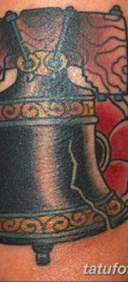 фото тату колокол от 19.12.2017 №008 – tattoo bell – tatufoto.com
