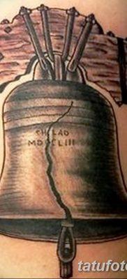 фото тату колокол от 19.12.2017 №009 – tattoo bell – tatufoto.com