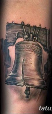 фото тату колокол от 19.12.2017 №010 – tattoo bell – tatufoto.com