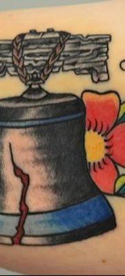 фото тату колокол от 19.12.2017 №011 – tattoo bell – tatufoto.com
