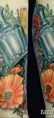 фото тату колокол от 19.12.2017 №013 – tattoo bell – tatufoto.com