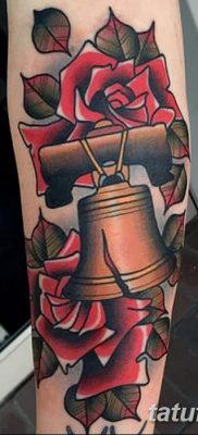 фото тату колокол от 19.12.2017 №020 – tattoo bell – tatufoto.com