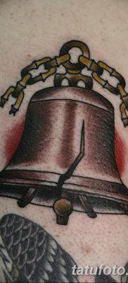 фото тату колокол от 19.12.2017 №031 – tattoo bell – tatufoto.com