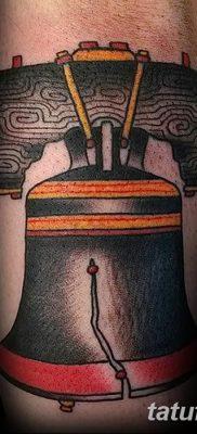 фото тату колокол от 19.12.2017 №036 – tattoo bell – tatufoto.com