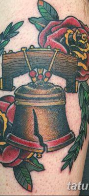 фото тату колокол от 19.12.2017 №037 – tattoo bell – tatufoto.com