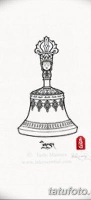 фото тату колокол от 19.12.2017 №038 – tattoo bell – tatufoto.com