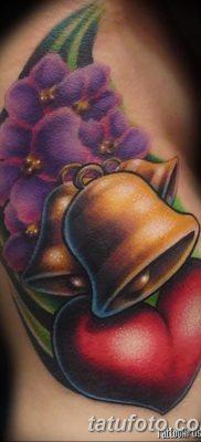 фото тату колокол от 19.12.2017 №051 – tattoo bell – tatufoto.com