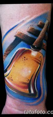 фото тату колокол от 19.12.2017 №067 – tattoo bell – tatufoto.com