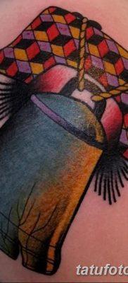 фото тату колокол от 19.12.2017 №072 – tattoo bell – tatufoto.com