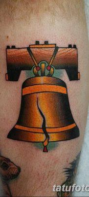 фото тату колокол от 19.12.2017 №074 – tattoo bell – tatufoto.com