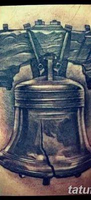 фото тату колокол от 19.12.2017 №076 – tattoo bell – tatufoto.com