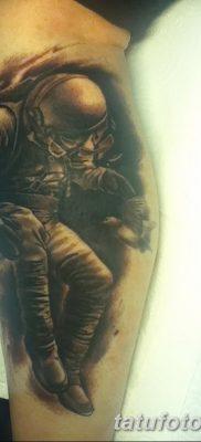 фото тату космонавт от 25.12.2017 №006 – cosmonaut tattoo – tatufoto.com