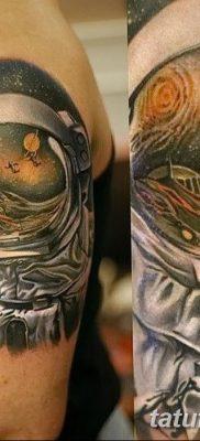 фото тату космонавт от 25.12.2017 №016 – cosmonaut tattoo – tatufoto.com