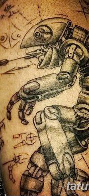 фото тату космонавт от 25.12.2017 №023 – cosmonaut tattoo – tatufoto.com