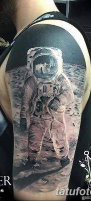 фото тату космонавт от 25.12.2017 №025 – cosmonaut tattoo – tatufoto.com
