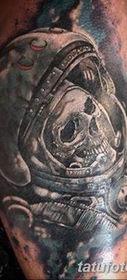 фото тату космонавт от 25.12.2017 №030 – cosmonaut tattoo – tatufoto.com