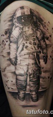 фото тату космонавт от 25.12.2017 №037 – cosmonaut tattoo – tatufoto.com