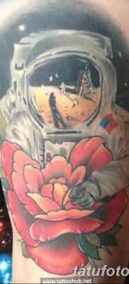 фото тату космонавт от 25.12.2017 №058 – cosmonaut tattoo – tatufoto.com