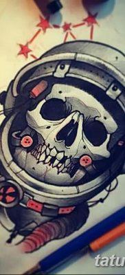 фото тату космонавт от 25.12.2017 №085 – cosmonaut tattoo – tatufoto.com